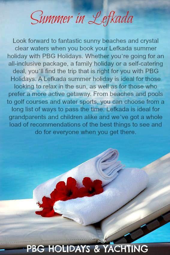 Summer in Lefkada PBG HOLIDAYS & YACHTING