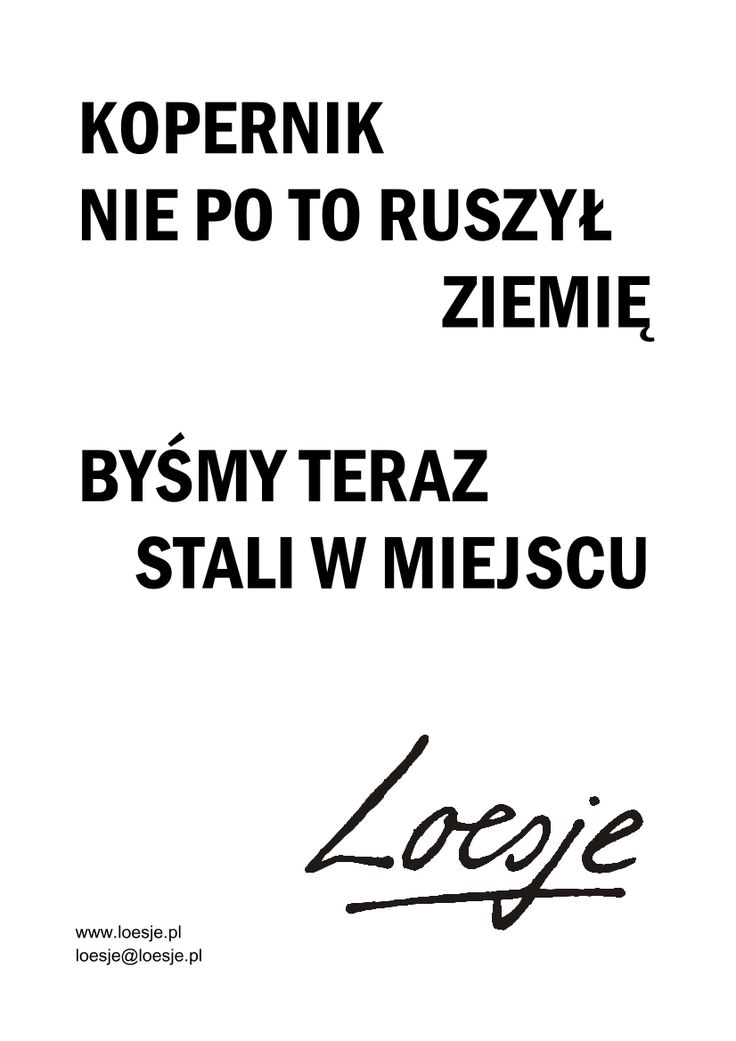 Loesje Polska - plakaty, warsztaty, kreatywne pisanie, murale, street art - Galeria plakatów