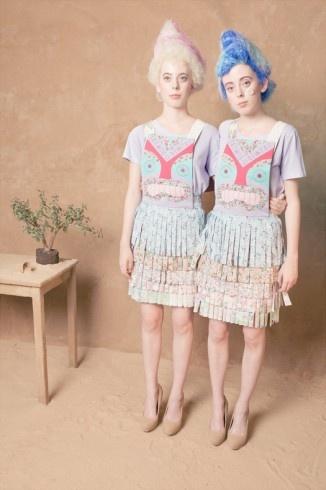 Teeshirt Jam Pot, vestido Tiki delantal: Tiki Aprons, Summer 2012, Clothing Dresses, Lu Flux Jam, Flux Jam Pots, Spring Summer, Aprons Dresses, Crazy Colour Dresses, Patchwork Clothing