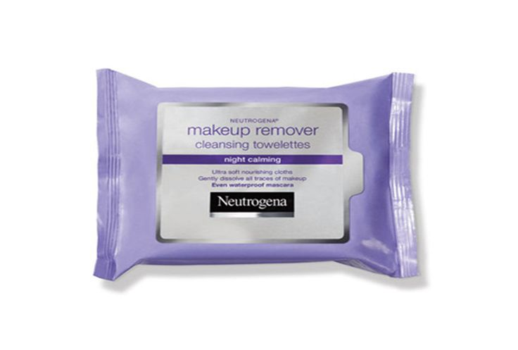 Best makeup remover wipes for late nights at college: Neutrogena night calming wipes