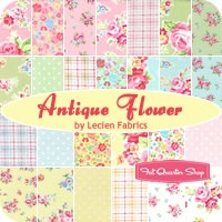 heirloom antique flower.. lovely fabric line!