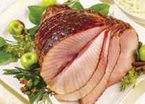 Maple Glazed Ham and Apples with Farmland Boneless Smoked Ham
