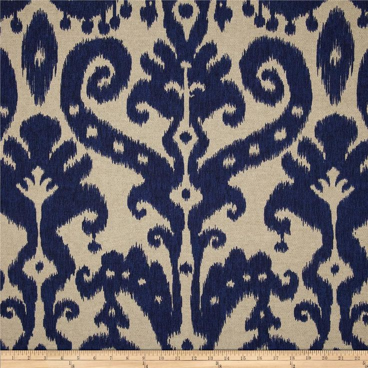 Lacefield Marrakesh Batik Indigo - I still have a wee bit of this one. You have 2 cushions in this fabric!