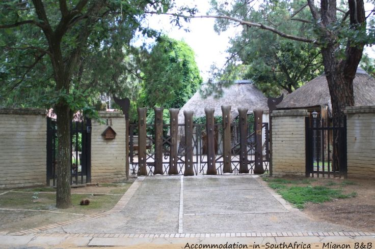 Welcome at Mignon's B&B. Accommodation in Sasolburg.