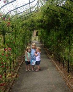 Gardens in Nonsuch park, Surrey