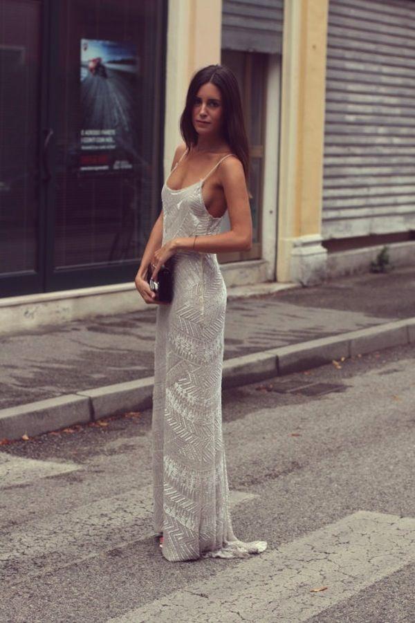 Slip-style Wedding Dress