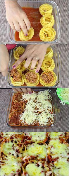 NEST GEFÜLLT ZUM OFEN #NEST #Pasta #Lanches #Oven #Recipes #Rech   – rocosta