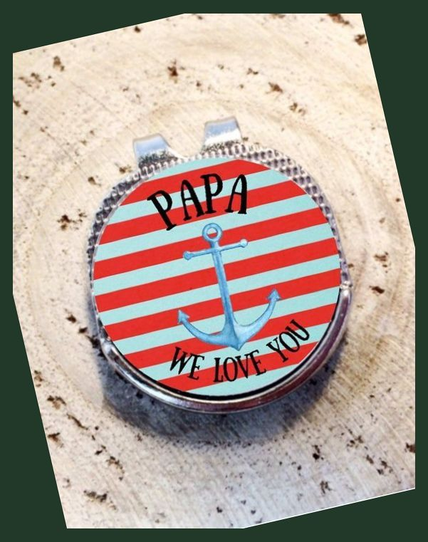 Golf Ball Marker Personalized Golf Ball Marker Divot Tool Grandfather Gift Grandpa Gift Dad Golf Bal Personalized Golf Ball Golf Ball Golf Tournament Gifts Grandfather Gifts