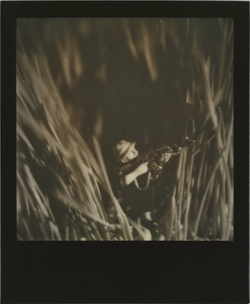 David Levinthal From the Vietnam Series 2011, PX 600 Silver Shade Black Frame © David Levinthal