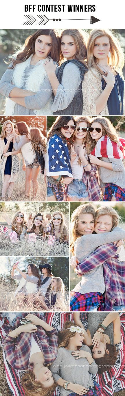 best friends photo shoot | bff | American flag | senior pose | teen photography…. – Cindy Swanson