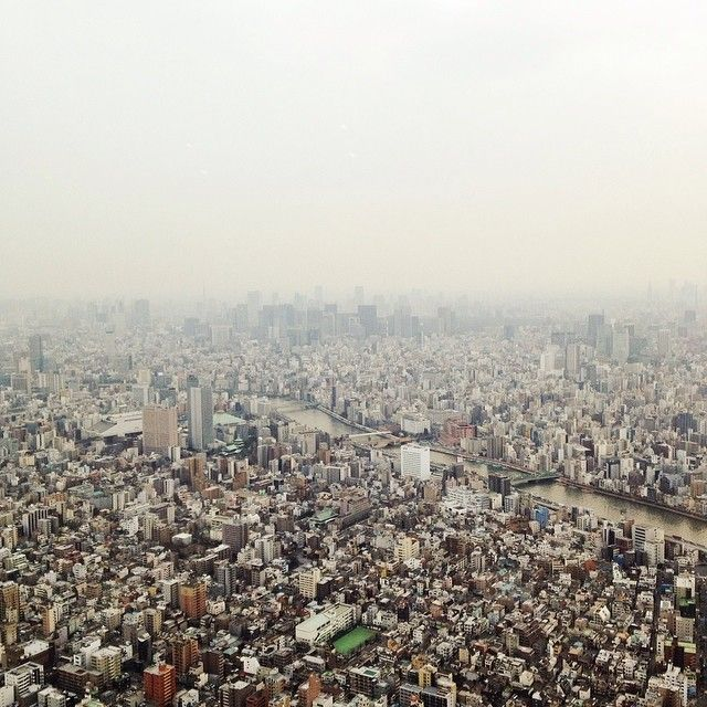 http://www.instagram.com/alyyyssalauu / View from the Tokyo Skytree