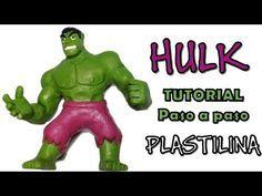 Como hacer a Hulk de plastilina / How to make a Hulk with clay - YouTube