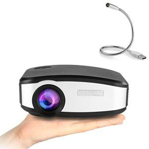 Vidéoprojecteur, Yokkao C6 Mini Projecteur Portable LCD LED Full HD 1080P 130 » Divertissement Cinéma, Domicile, Théâtre, Multimédia,…