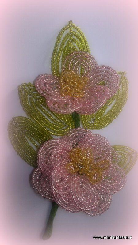 tutorial beaded flowers camellia