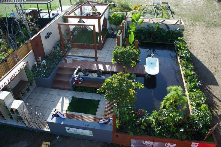 Take Rest  Designed by Grant Stephens and Rebecca Hammond of H&S Landscape Design