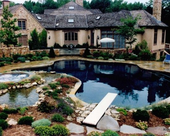 pond pool....if i had a pool, this would be my choice!