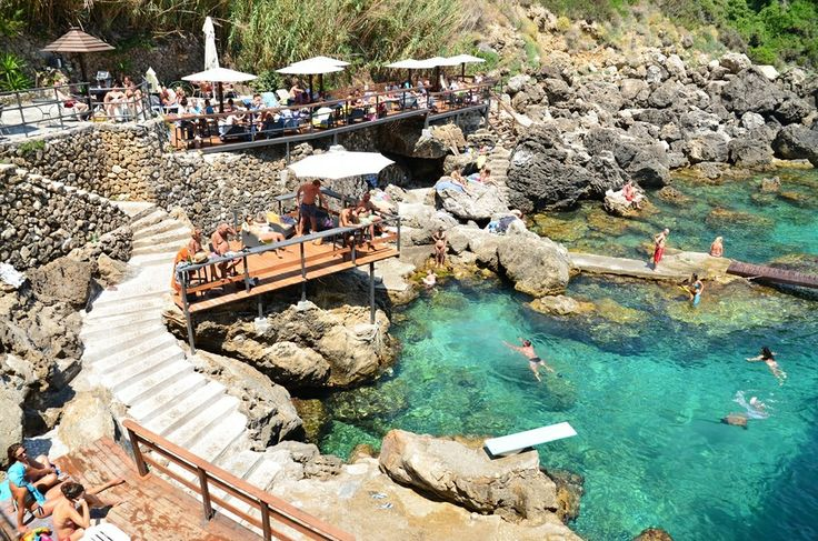 La Grotta Bar, Corfu, Greece