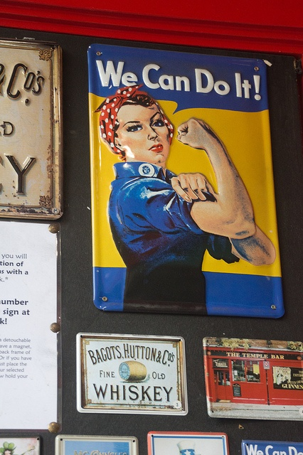 We Can Do It Says Rosie The Riverter