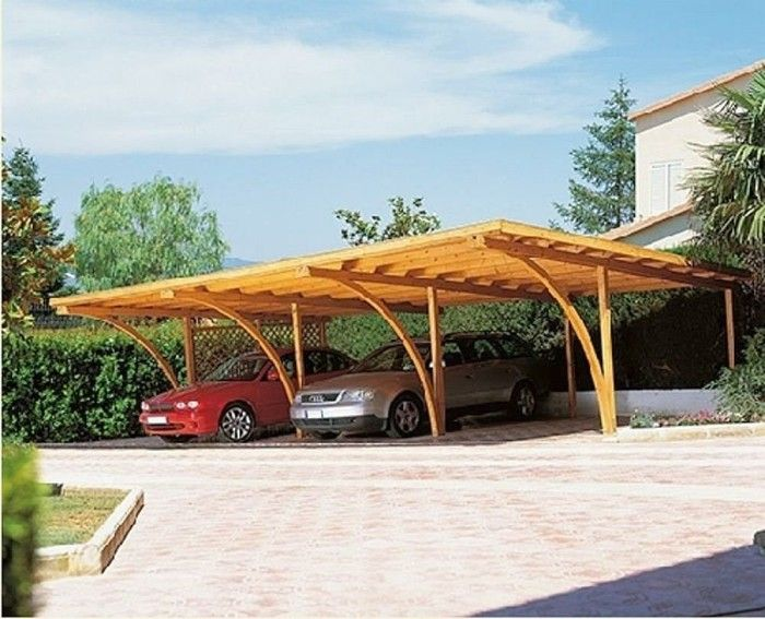 25 best ideas about pergola carport on pinterest for Open carport plans