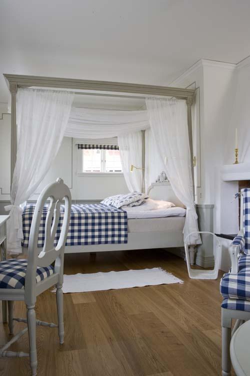 Hotel room at Tällbergsgården in Dalarna