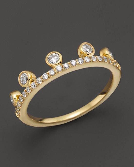Khai Khai Woman 18-karat Gold Diamond And Crystal Ring Gold Size 7 Khai Khai NkptCQZ