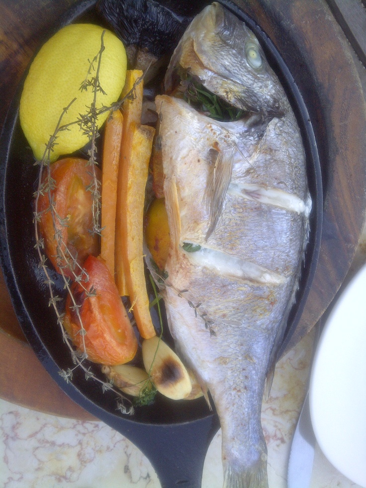 Fresh as can be! Straight from the sea #DeliciousIsrael