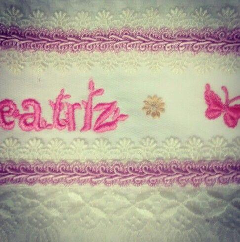 Toalha lavabo Beatriz