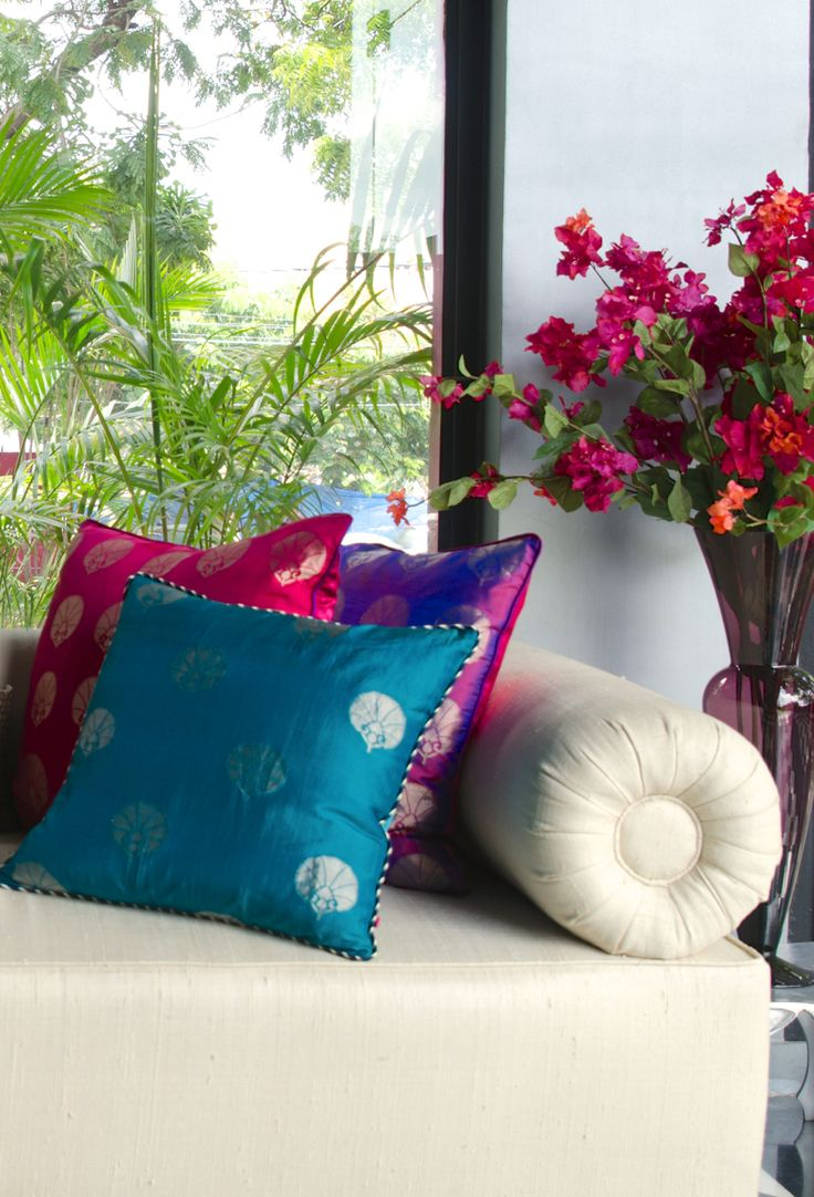 CUSHION COLLECTION Discover our range of rich, evocative and decorative cushions to suit every style. #PillowTalk #Cushions