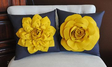 Yellow Throw Pillows for bed | All Products / Accessories  Decor / Pillows and Throws / Pillows