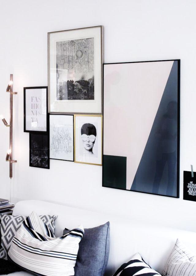 1384 best art displayed images on Pinterest Home, Art walls and - artwork for living room