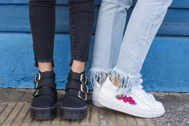Bart Neo Urbano Negro y nuestras Nati Bordadas  #SoydeGrecia #fashion #shoes