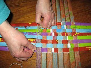 progetti di tessitura di Ruth: come fare cestini intrecciati