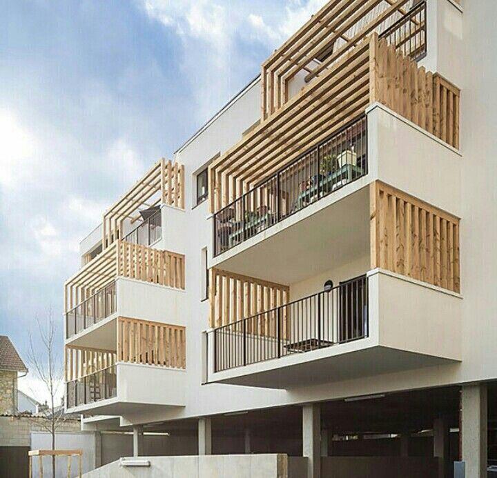 Fachada cellings pinterest fachadas arquitectura y for Departamentos arquitectura moderna