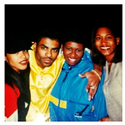 Rare Aaliyah Picture. Behind The Scenes: 1997 Soul Train Awards. Edited by Phoenix Rising.