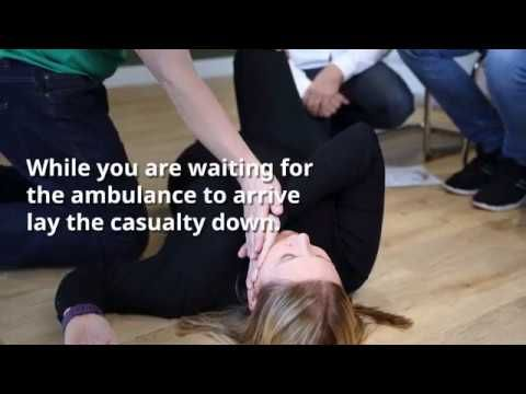First Response First Aid  - What do in case of a Stroke
