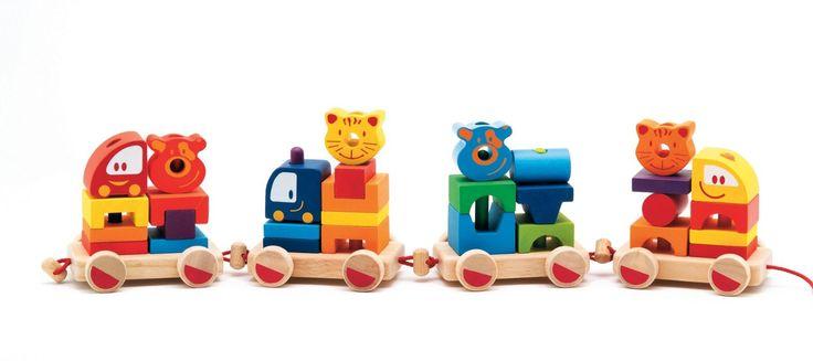 Amazon.com: Djeco My Little Train: Toys & Games