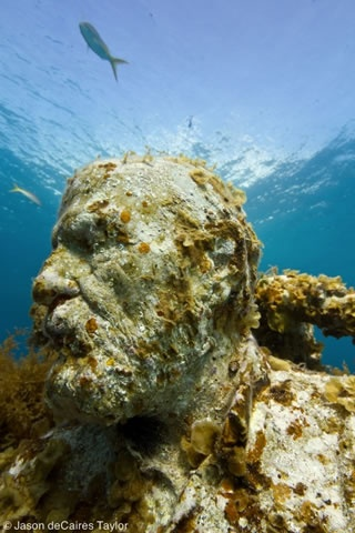La Evolución Silenciosa (The Silent Evolution)- absolutely fascinating sculptures by Jason de Caires Taylor on the sea floor between Cancun and Isla Mujeres