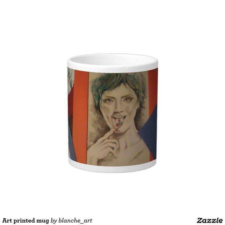 Art printed mug