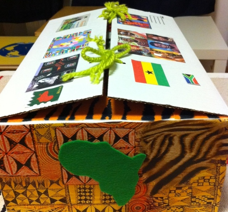 A Bohmenian Education ~ Africa Continent Box