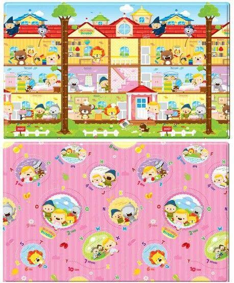 Dorothy's house playmat