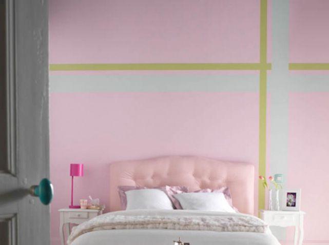 Quelles couleurs choisir pour une chambre d 39 enfant murs roses mur et roses for Quelle couleur pour une chambre