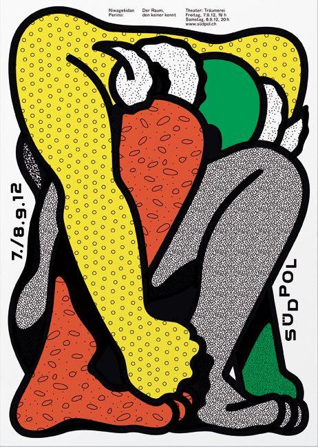 Felix Pfaeffli's Pop Infused Graphic Posters