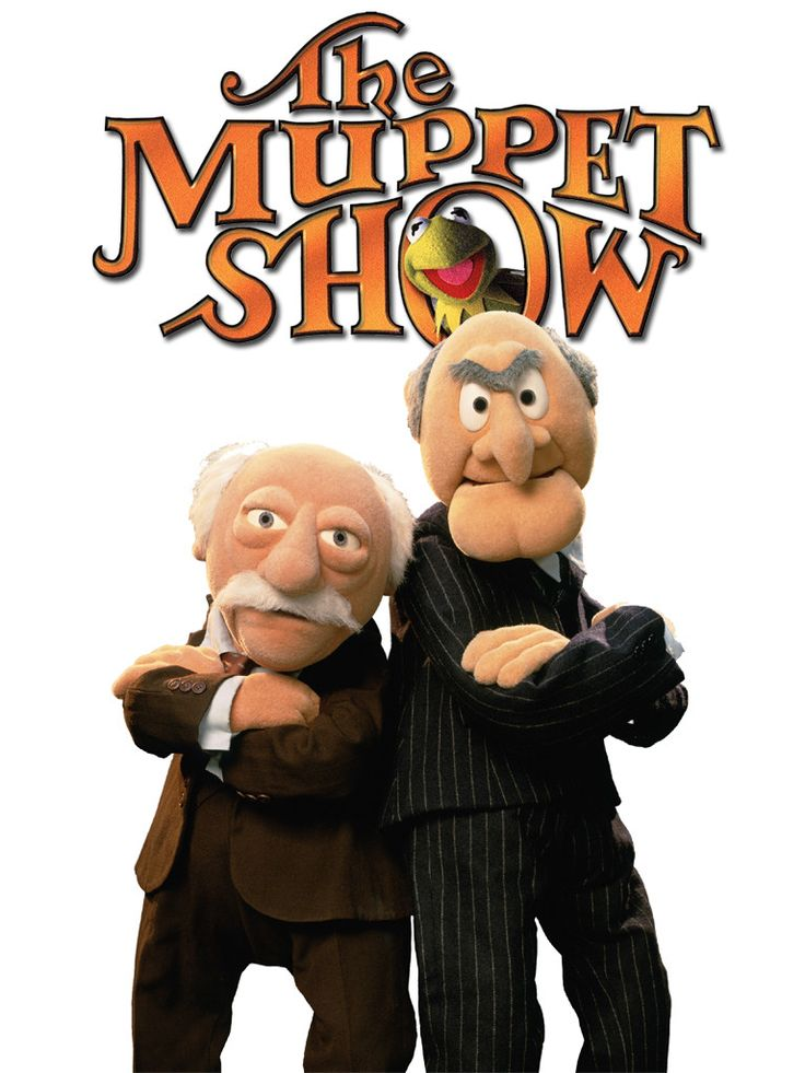 Brand New T-shirt The Muppets Statler and Waldorf