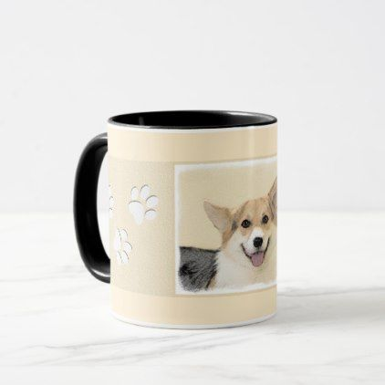 #Pembroke Welsh Corgi Mug - #pembroke #welsh #corgi #puppy #dog #dogs #pet #pets #cute #pembrokewelshcorgi