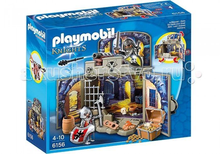 Конструктор Playmobil Возьми с собой: Сокровищница рыцарей  Конструктор Playmobil Возьми с собой: Сокровищница рыцарей - большой конструктор для маленьких любителей благородного рыцарства.  Мальчишки обожают читать о подвигах великих воинов, воссоздавать битвы прошлого, любят турниры и состязания. Может быть, поэтому их так привлекает эпоха Средневековья? Вручите своему ребенку комплексный набор Playmobil «Сокровищница рыцарей» для того, чтобы разнообразить его любимые игры! В этом…