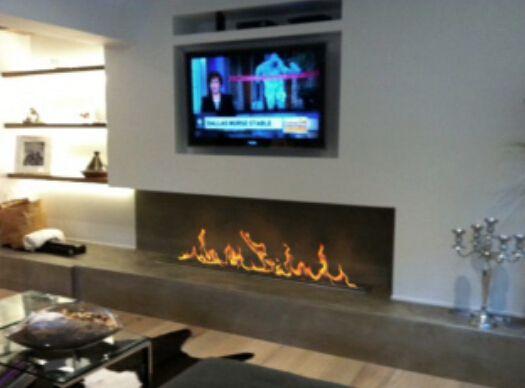 "18"" Remote control bio ethanol  intelligent modern electric fireplace"