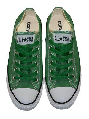 Converse Chuck Taylor All Star Green Ox Trainers