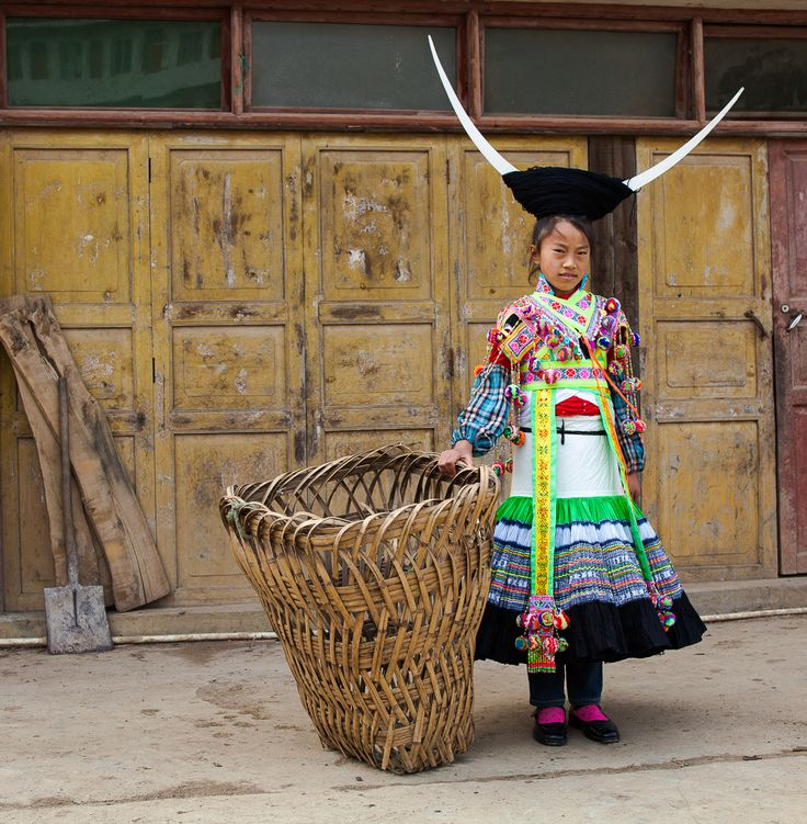 White Miao #9   The term Miao was first used by the Chinese in pre-Qin times, i.e. before 221 B.C., for designating non-Chinese groups in the south. It was often used in the combinations 'miaomin', 'youmiao' and 'sanmiao'. At that time the people lived in the Yangtze valley, but later they were forced by the Chinese to move further southwards. During the Tang (613-907 A.D.) and Song dynasties (960-1279 A.C.) the term 'nanman' was used for the same peoples. However, the name 'miao' reappeared…