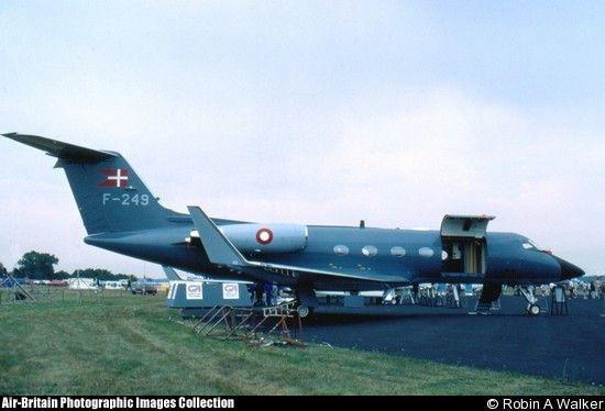 Grumman G-1159A Gulfstream III, F-249, Royal Danish Air Force