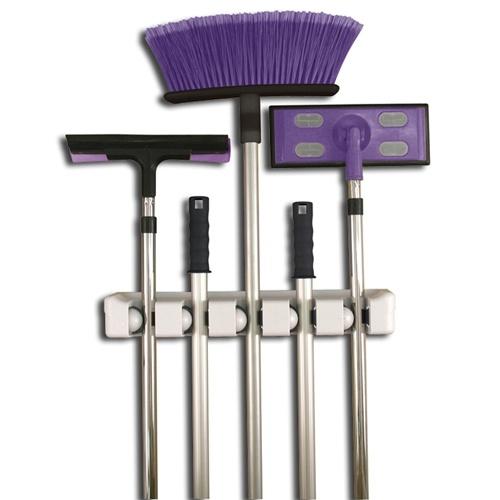 mop broom organizer create your best life pinterest. Black Bedroom Furniture Sets. Home Design Ideas